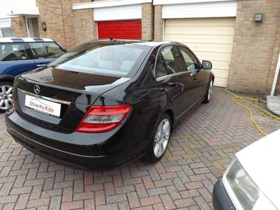 Mercedes Benz C220 after pre-sale valeting in Bridgwater