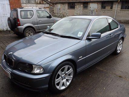 BMW 330ci after pre-sale valeting in Street, Somerset
