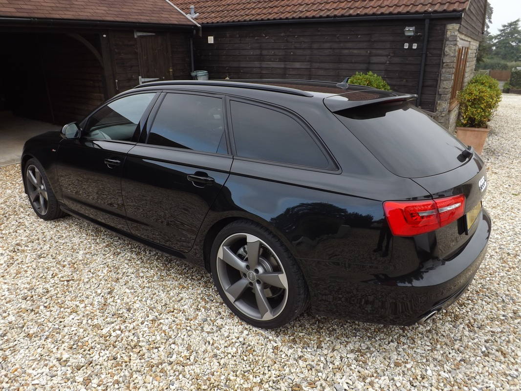 Audi A6 Avant before valeting