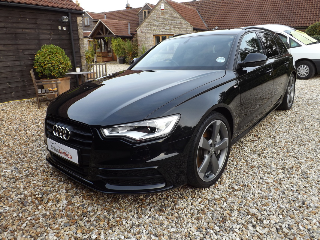 Audi A6 Avant after New Car Protection in Somerset