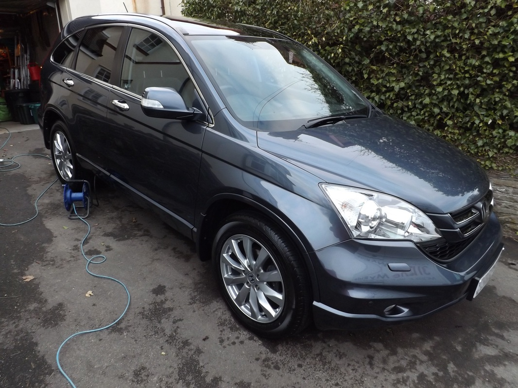 Honda CR-V after valeting in Blagdon by Shine My Ride