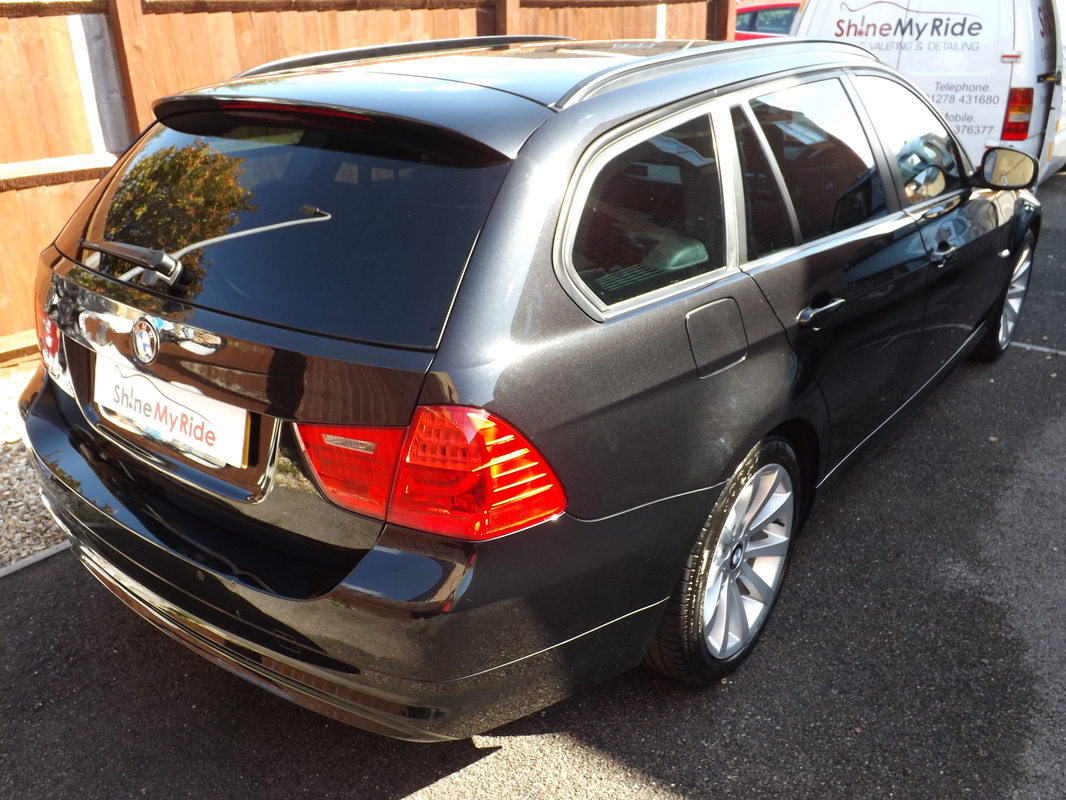 BMW 3-Series Estate after valeting in Street, Somerset