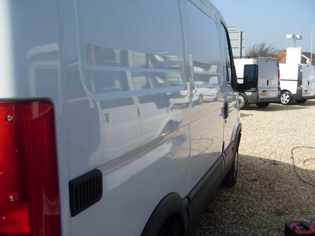Iveco Daily van after valeting in Bridgwater