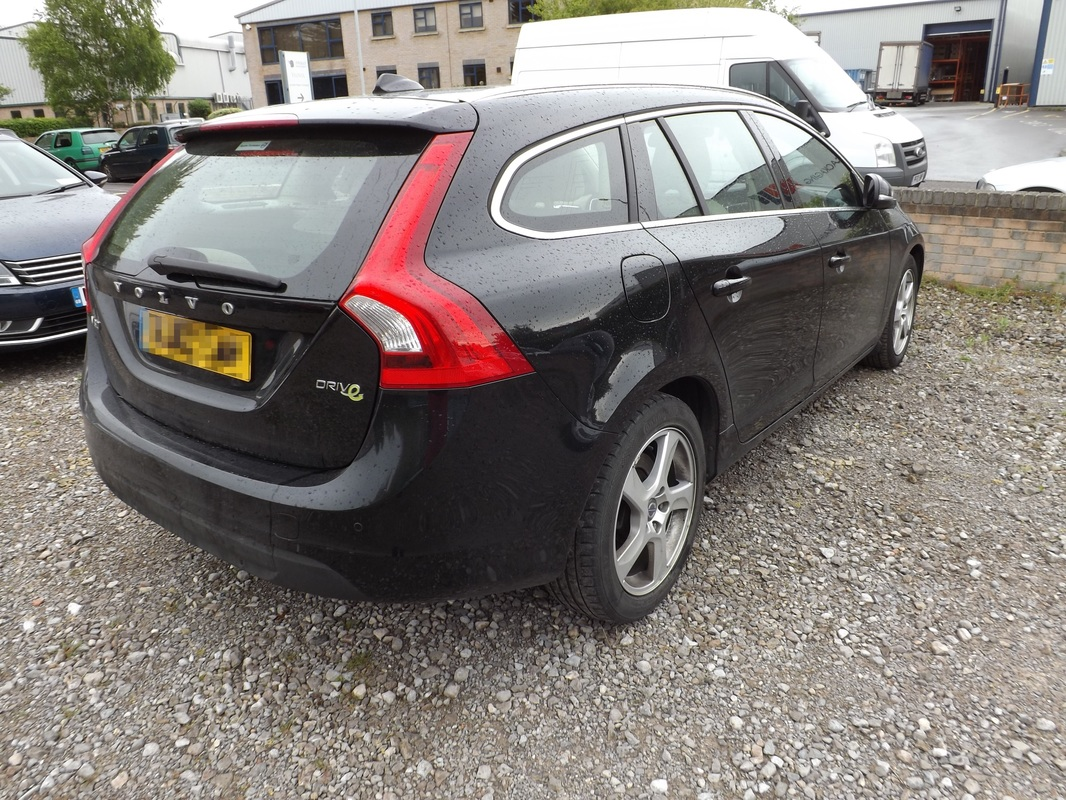 Volvo V60 before valeting in Yeovil