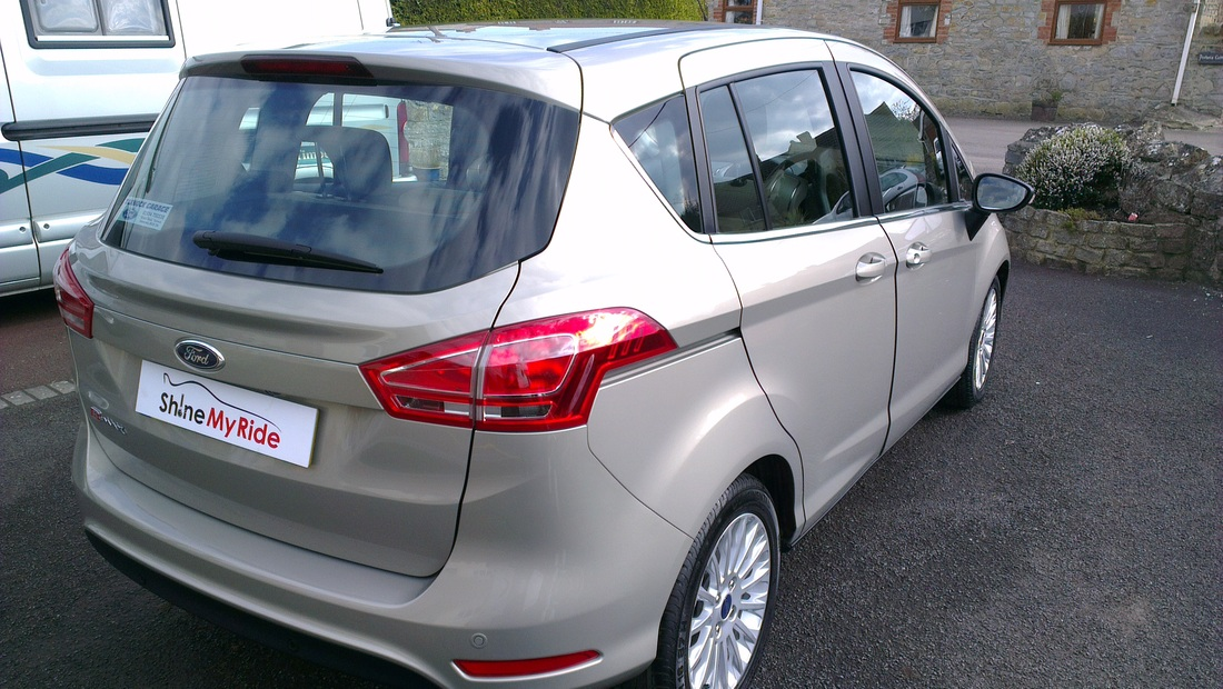 Ford B-Max after New Car Protection valeting